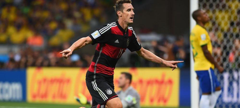 Brazilia a pierdut TOT: Ronaldo a fost depasit, Klose este cel mai bun marcator din istoria Mondialului!