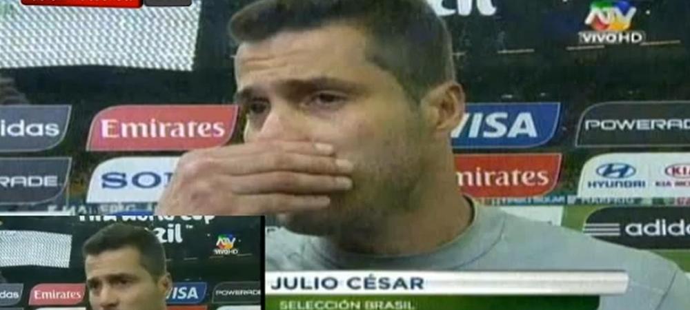 SFASIETOR! Julio Cesar a izbucnit in lacrimi dupa dezastrul cu Germania! Ce mesaj le-a transmis milioanelor de fani
