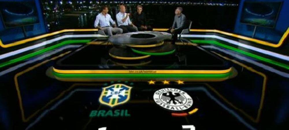 Nici ei nu au crezut cat e scorul! Ce a scris BBC live la TV langa scorul 1-7. S-au temut ca toti vor crede ca e o gluma