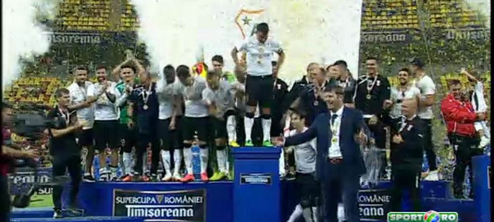 Moment INCREDIBIL pe National Arena dupa penalty-uri! Ce au facut stelistii cand Astra se pregatea sa ia trofeul VIDEO