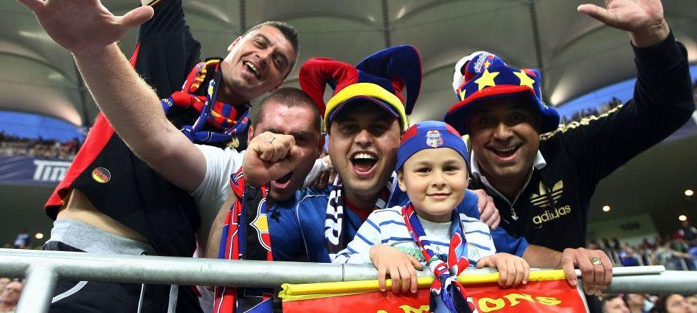Steaua a scos la vanzare biletele pentru meciul cu Stromsgodset de pe National Arena! Cat costa cel mai ieftin loc la meci