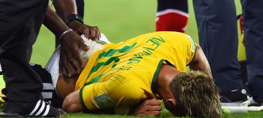 """Cum a trait Neymar UMILINTA istorica a Braziliei: """"M-am saturat de rahatul asta!"""" Ce a facut dupa golul de 7-0 al lui Schurrle"""