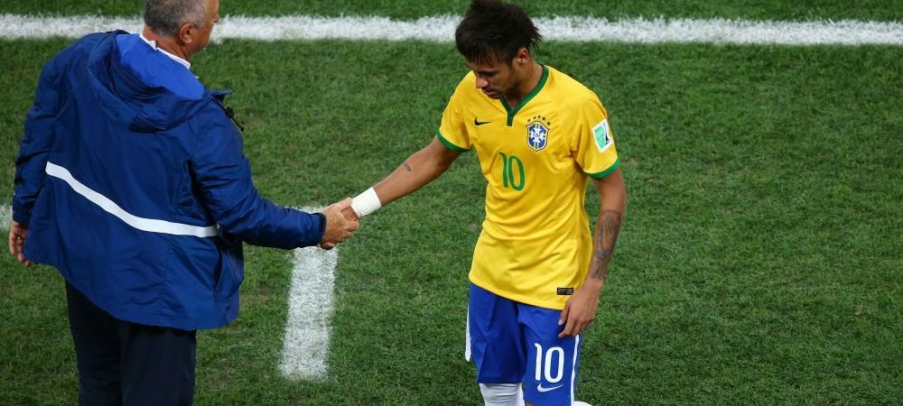 "RAZBOI in Brazilia! Impresarul lui Neymar despre Scolari: ""Un batran imbecil si arogant!"" Antrenorul poate fi DAT AFARA"