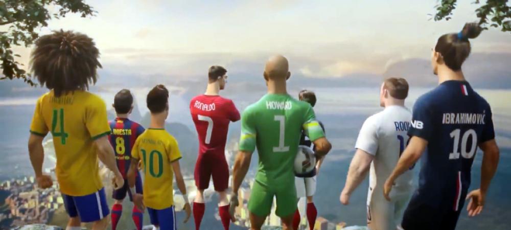 Coincidenta incredibila! Ce s-a intamplat cu jucatorii care au luat parte la reclama Nike, lansata inainte de Mondial! VIDEO