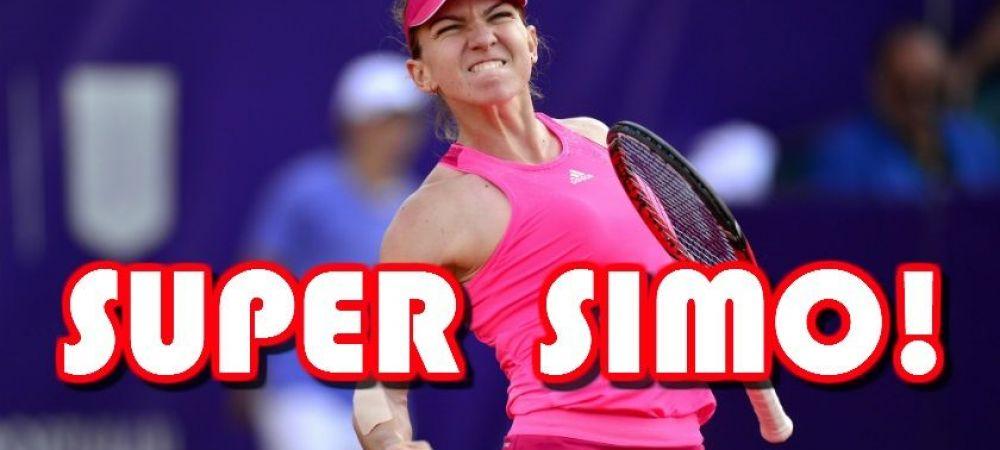 Simona castiga turneul de la Bucuresti dupa o finala superba, in fata unor tribune pline! Simona Halep - Roberta Vinci 6-1 6-3