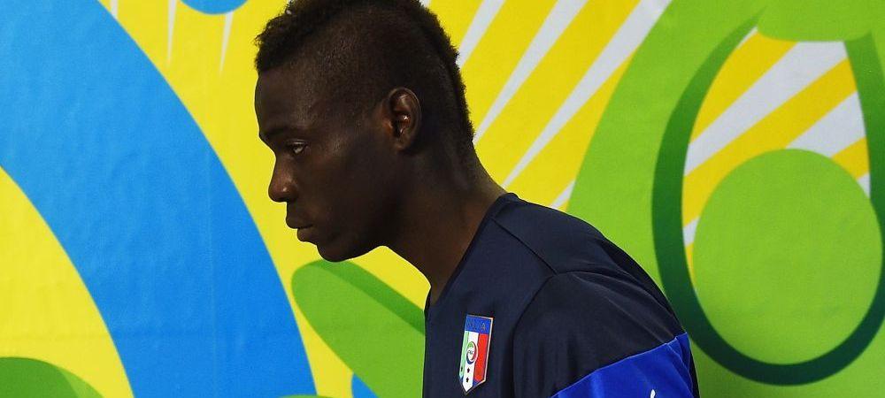 Ultima nebunie a lui Balotelli! Inzaghi l-a pus sa-si stearga IMEDIAT poza de pe Instagram: a aparut cu o arma in mana! FOTO