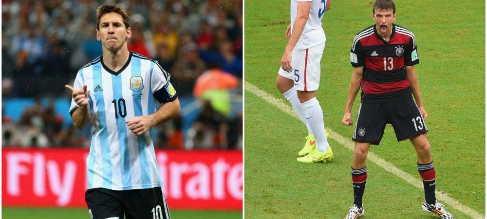 Titlul Mondial si Gheata de Aur, la un meci distanta! Messi are sansa de a-l depasi definitiv pe Maradona, Muller e insa favoritul