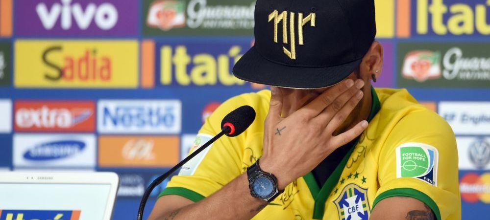 "Neymar a inceput sa planga in fata jurnalistilor: ""Acum puteam sa fiu intr-un scaun cu rotile!"" Ce spune despre Zuniga:"