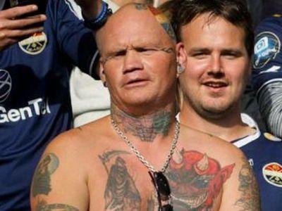 Cel mai nebun suporter al lui Stromsgodset vine la Bucuresti! Cum arata 'diavolul norvegian': FOTO