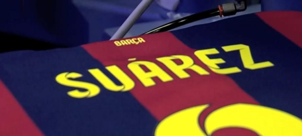 Barcelona a imprimat deja primele tricouri cu Suarez! Ce numar va purta starul uruguayan cumparat cu 93 de milioane: