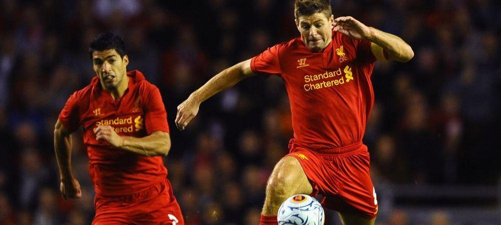 """Reactia lui Steven Gerrard dupa plecarea lui Suarez: """"Este o zi emotionanta pentru mine!"""" Ce a postat pe net"""