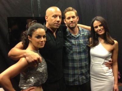 "Iti dau lacrimile! Mesajele emotionante ale lui Vin Diesel si Michelle Rodriguez pentru Paul Walker: ""Stiu ca te-am facut mandru"""