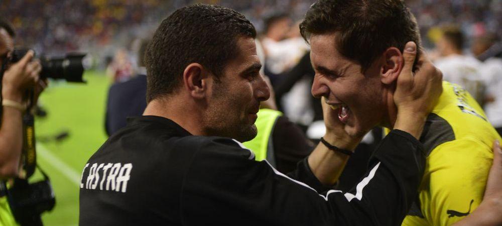 """""""E pacat ca am jucat si 120 minute!"""" Mesajul lui Arlauskis dupa ce Silviu Lung Jr. i-a luat al doilea trofeu Stelei la penaltyuri"""