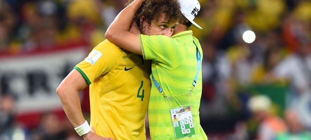 """""""Multumesc! M-ai facut sa plang!"""" Emotionant! Ce scrisoare a primit David Luiz dupa MASACRUL Braziliei la CM"""