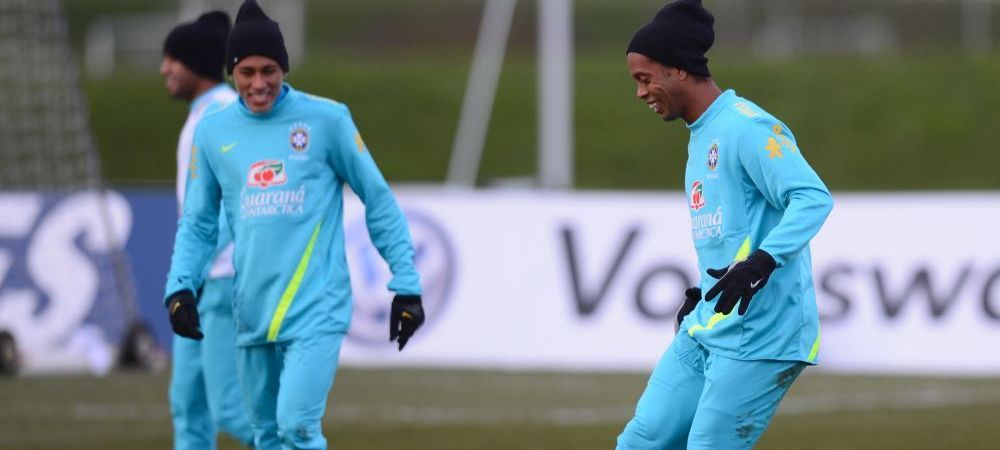 Echipa de MILIOANE pe care o putea avea Brazilia! Ronaldinho, starul formatiei care putea juca la Mondial! Primul 11