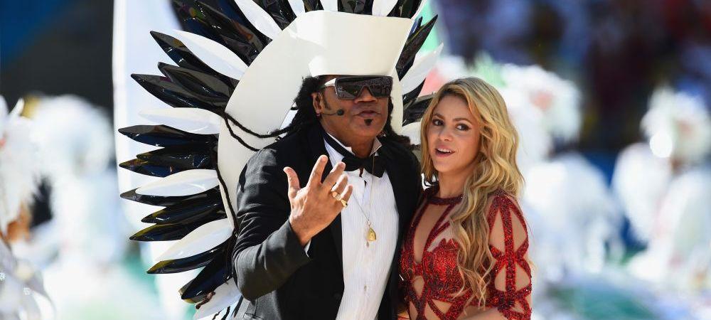 Final incendiar de Mondial. Ce show a facut Shakira pe scena la festivitatea de incheiere din Brazilia. FOTO