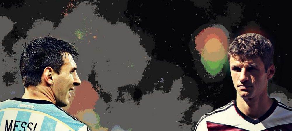 Gest neasteptat al lui Muller inaintea finalei Mondialului! Ce a facut in fata camerelor la imnuri