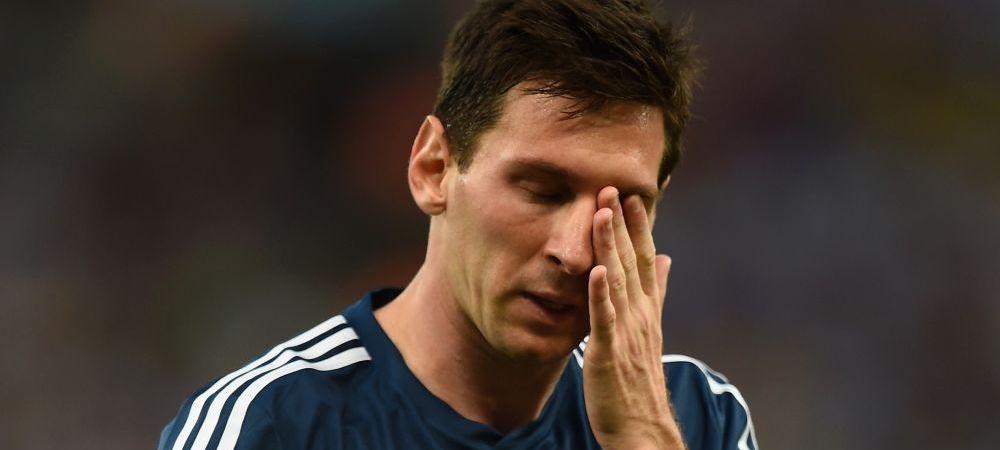 Ce se intampla cu Messi? Alerta pe teren! Toata lumea l-a privit inspaimantata! Ce a facut in timpul meciului cu Germania