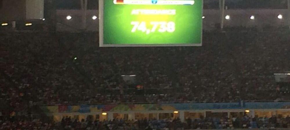 Imaginile NEVAZUTE de la Germania - Argentina! Ce s-a intamplat in tribune finala Cupei Mondiale