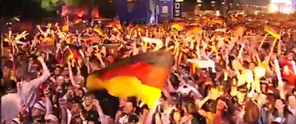 VIDEO: Din Berlin pana pe Copacabana, noaptea nemtilor nebuni! Reactii dupa trofeul Mondial castigat de Germania: