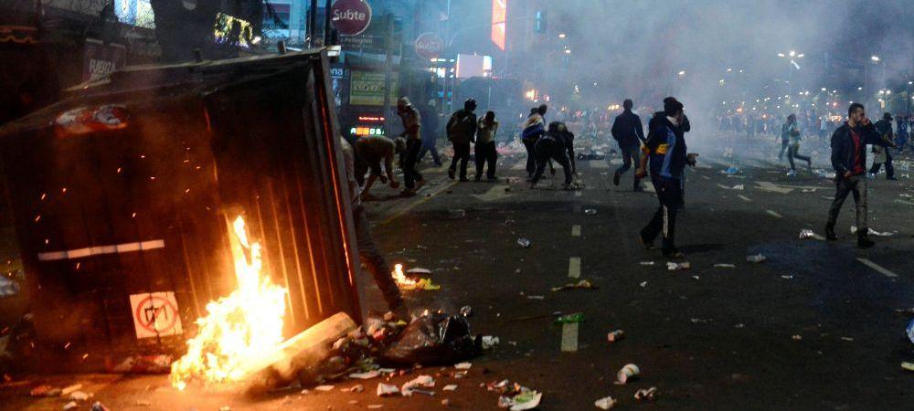 Violente teribile la Buenos Aires: golul lui Gotze a declansat haosul! Magazine vandalizate, politisti raniti, zeci de arestari!