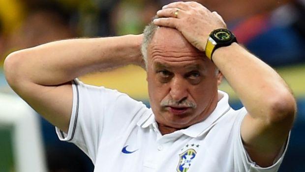 Cea mai mare umilinta din istoria Braziliei i-a fost fatala: Scolari, fortat sa-si dea DEMISIA de la nationala!
