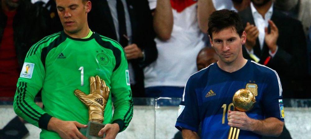 FIFA a starnit un scandal dupa ce i-a dat Balonul de Aur de la Mondial lui Messi! Cei mai buni jucatori de la turneul final