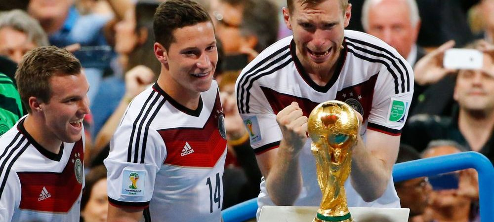 Cele mai tari imagini dupa o finala de vis! Gotze nu era nascut cand Germania a castigat ultima Cupa Mondiala - SUPER FOTO