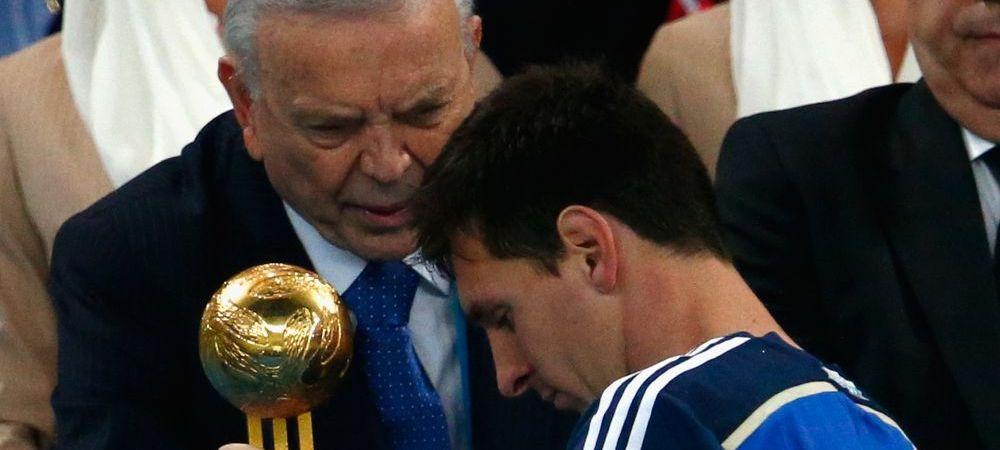 "Maradona critica si el decizia FIFA: ""Nu e corect ca Messi sa ia acest premiu pentru ca exista un plan de marketing!"""