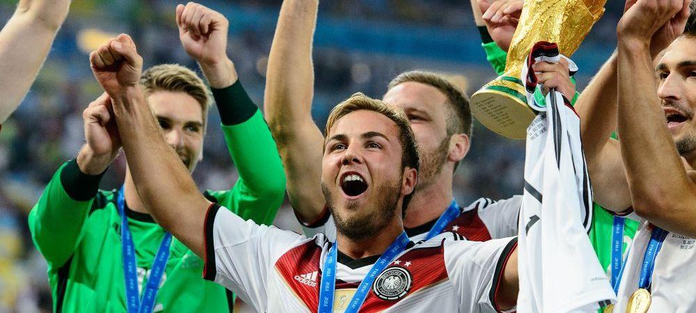"""Gestul de CAMPION al lui Gotze, dupa finala Mondialului! SuperMario si-a pus cea mai tare poza pe Instagram: """"El e geniul!"""""""