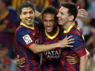 OFICIAL | Barcelona renunta la dungi in noul sezon! Cum vor arata tricourile de deplasare ale lui Suarez, Messi si Neymar