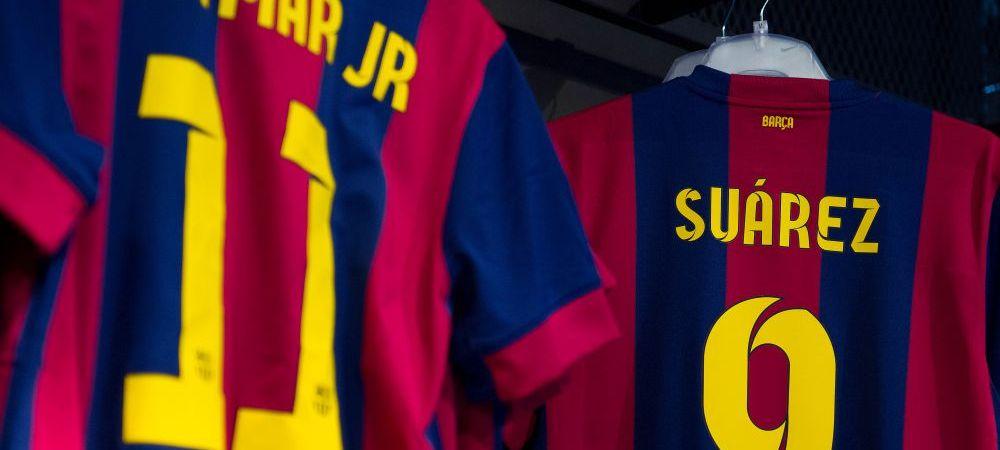 """OFICIAL! """"Luis Suarez este jucatorul Barcelonei!"""" Luis Enrique a vorbit despre atacul EXTRATERESTRU cu Suarez, Messi si Neymar"""