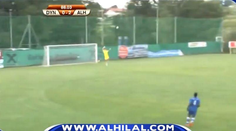 Reghecampf n-a vazut in doi ani la Steaua asa ceva! Gol de la 60 de metri in primul sau meci la Al Hilal
