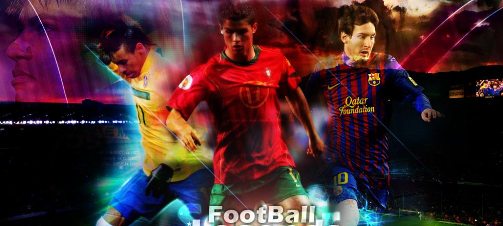 """""""Fara asta, nu eram niciodata cine sunt astazi!"""" Secretul lui Cristiano Ronaldo, Messi si Neymar. Cum sunt 'inventati' brazilienii"""