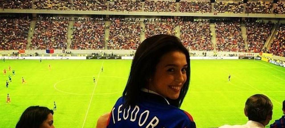 Are tata o fetita, zici ca-i manechin :) Fata fostului manager de la Steaua face furori in costum de baie! FOTO