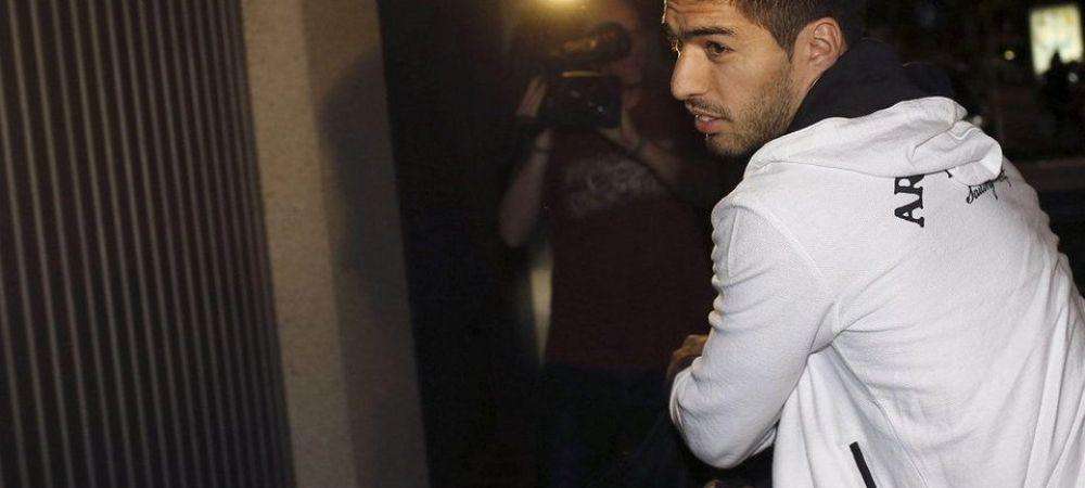 INCREDIBIL! Suarez a venit la stadion sa semneze contractul cu Barcelona! Ce a trebuit sa faca din cauza suspendarii FIFA