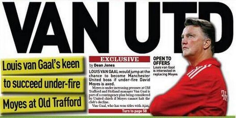 Englezii au facut-o si pe asta! Cum l-au primit pe Luis Van Gaal la Manchester United, cand au aflat ca i se spune Laleaua de Fier
