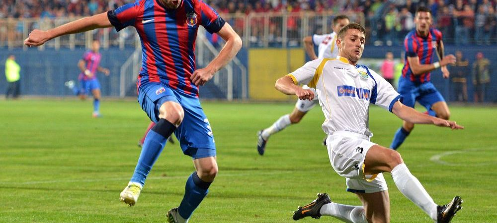 Steaua l-a pierdut pe Radut! Jucatorul a fost declarat liber de contract si a semnat imediat cu alta echipa din Liga I