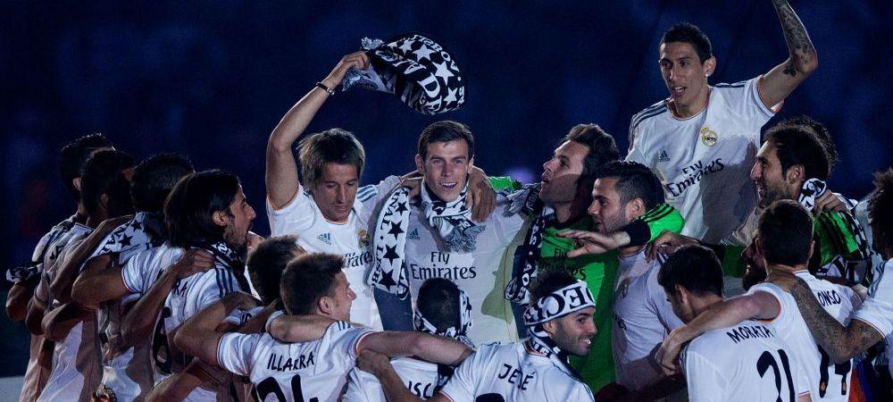 FOTO: Al treilea echipament al Realului a ajuns pe net! Ronaldo, Bale si James vor avea un DRAGON pe piept