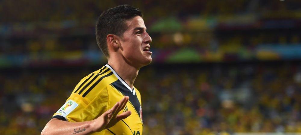 """""""S-a facut, James e al Realului!"""" Salariu URIAS pentru golgheterul Mondialului, afacerea este de 125 de milioane de euro!"""