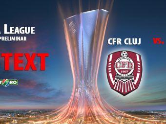 CFR e obligata sa castige in Serbia! Ogbu a ratat 3 ocazii mari si o bara, Susic a salvat de pe linia portii! CFR Cluj 0-0 Jagodina