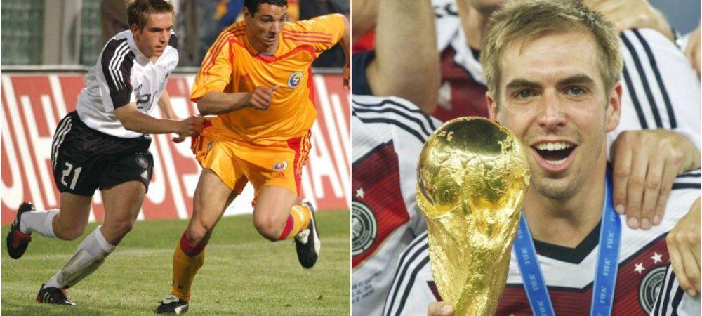 A dat golul Germaniei in acel 5-1 din Giulesti si a terminat castigand Cupa Mondiala! Phillip Lahm, fundas, capitan, geniu!