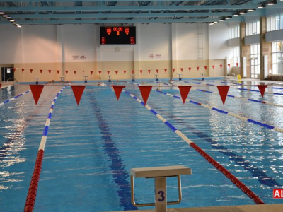 Bazinul olimpic din Alba Iulia, redeschis dupa 4 ani dupa o investitie de 3 milioane €