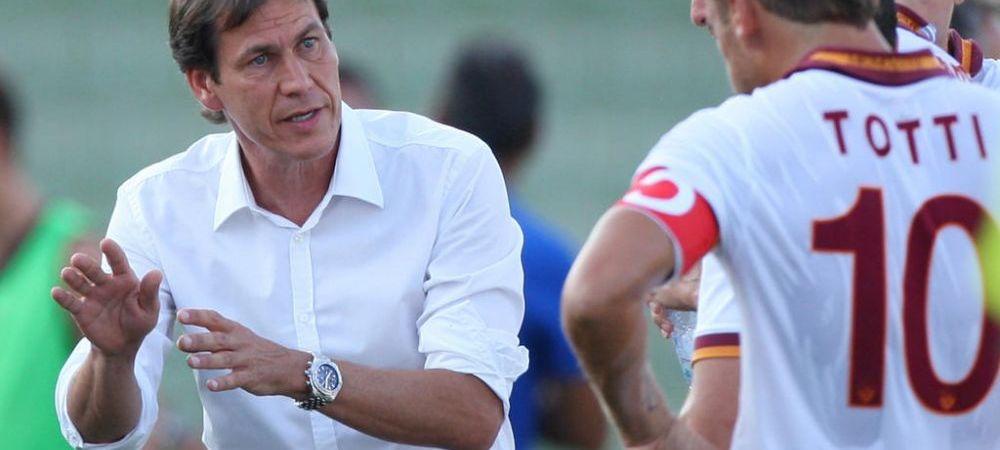 Roma Romena! Rudi Garcia a folosit doi romani in amicalul de ieri! DEBUT la prima echipa pentru pustiul lansat de Hagi