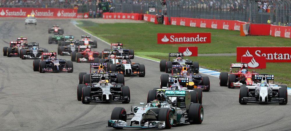 """Dupa fotbal, Formula 1 a devenit si ea o """"afacere"""" germana! Rosberg si Mercedes, stapani pe F1, dupa victoria de la Hockenheim"""