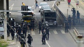 Incidente langa stadionul Giulesti inainte de Rapid - Steaua: suporterii s-au batut in zona Crangasi!