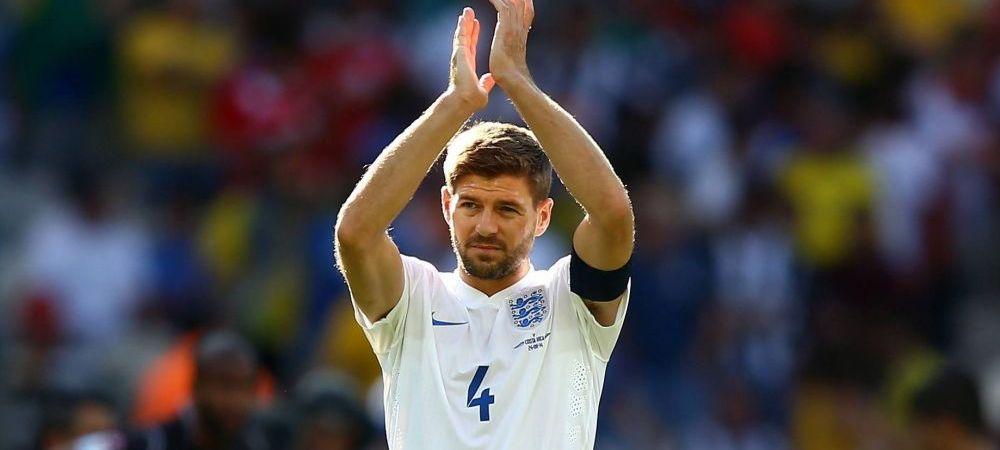 """Zi istorica pentru englezi! Capitanul Steven Gerrard si-a anuntat retragerea din nationala: """"Am fost cel mai mandru om din tara!"""""""