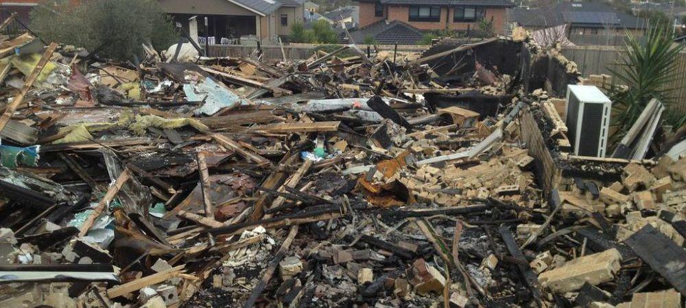 Poveste incredibila! Un copil de 13 ani si-a salvat intreaga familie din incendiu! Nu i-a venit sa creada ce a gasit in ruine