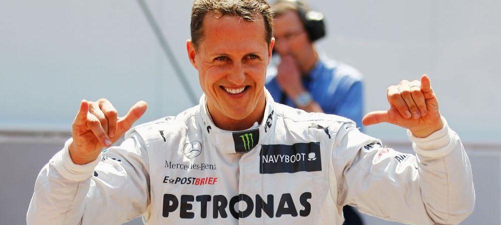 """Veste URIASA despre starea lui Schumacher: """"Ar putea pleca acasa in curand"""" Metoda revolutionara care il poate face sa-si revina"""