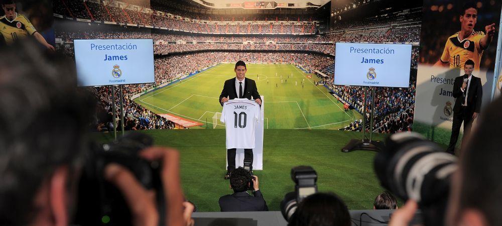 James Rodriguez deja face bani pentru Real Madrid! Cat a castigat clubul in primele 60 de minute dupa ce l-a transferat: